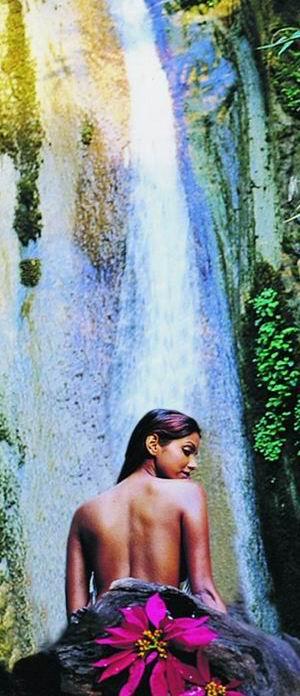 Ayurveda Wasserfall